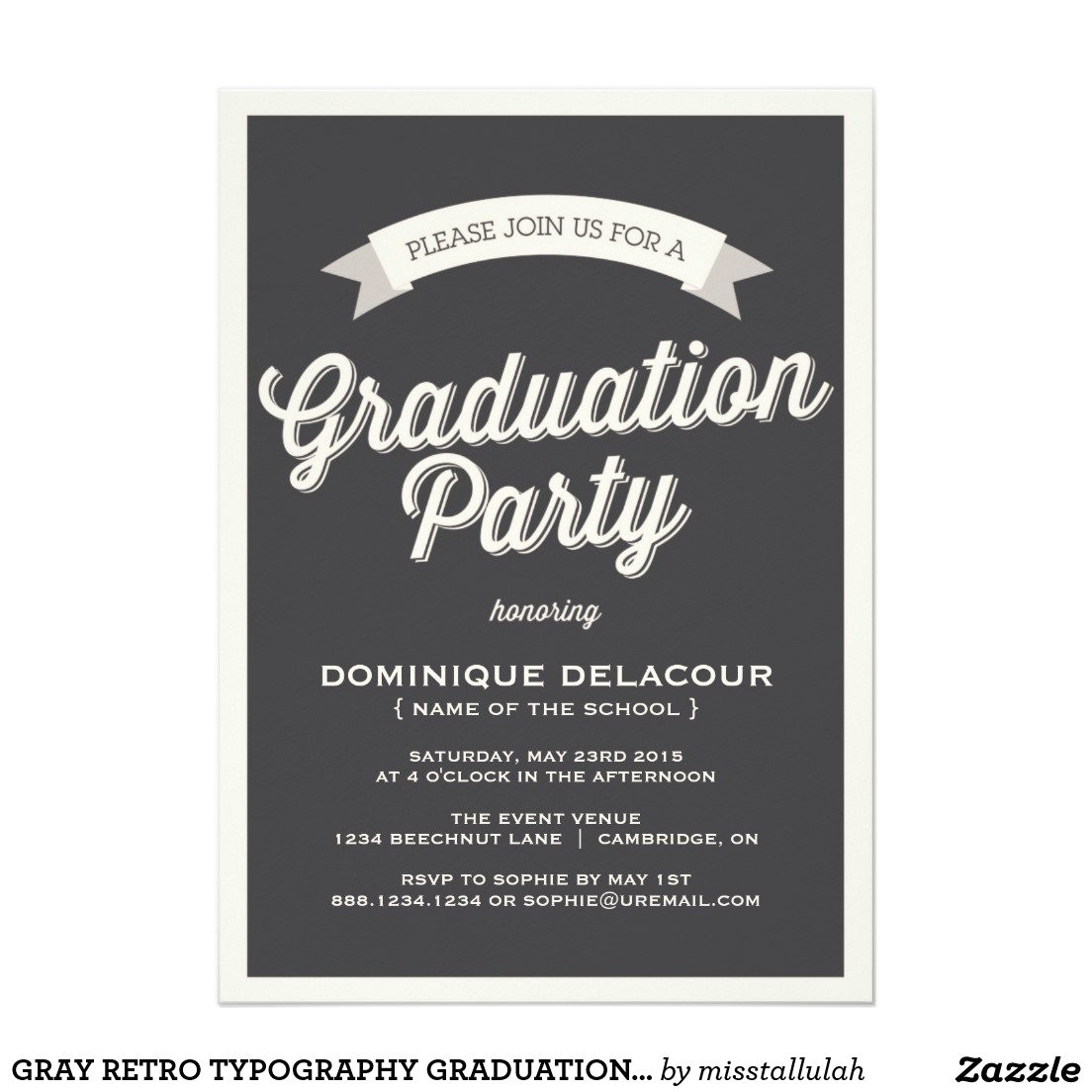 graduation dinner invitation wording