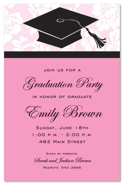 graduation dinner invitations using an excellent design idea aimed to prettify your graduation invitation templates 15