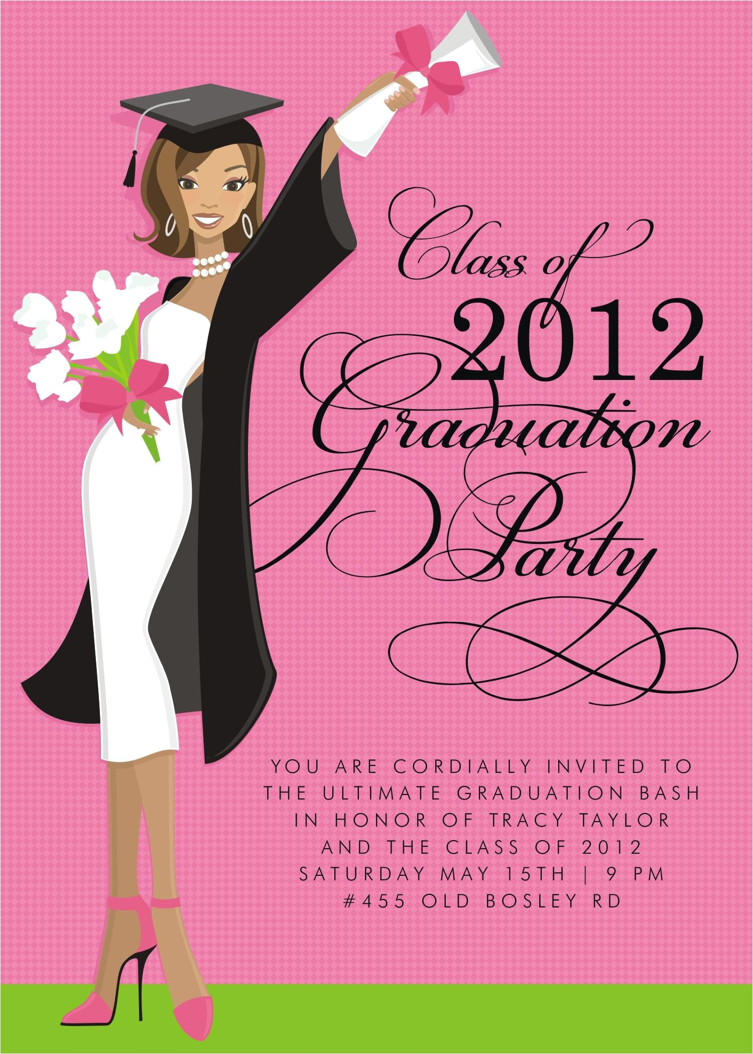 graduation invitations wording