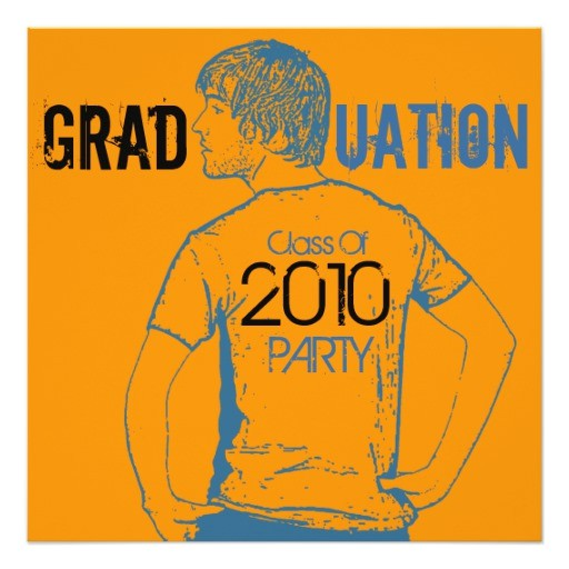 photo insert graduation party invitation boy 2 161964899551811718