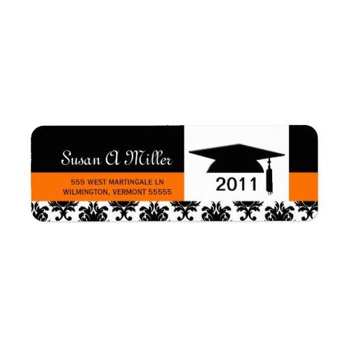 graduation return address labels class of 106438612291588069