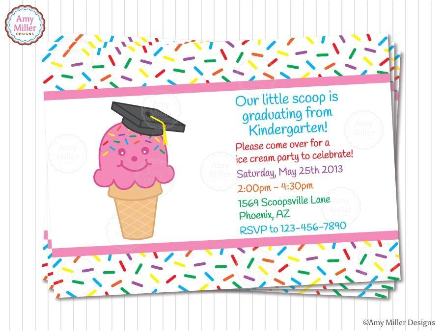51503301 kindergarten and preschool graduation invitations