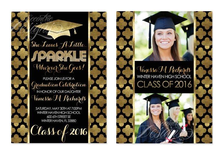 graduation invitations 2018