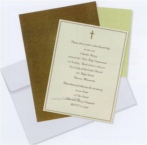 graduation deluxe imprintable invitation kit 140399