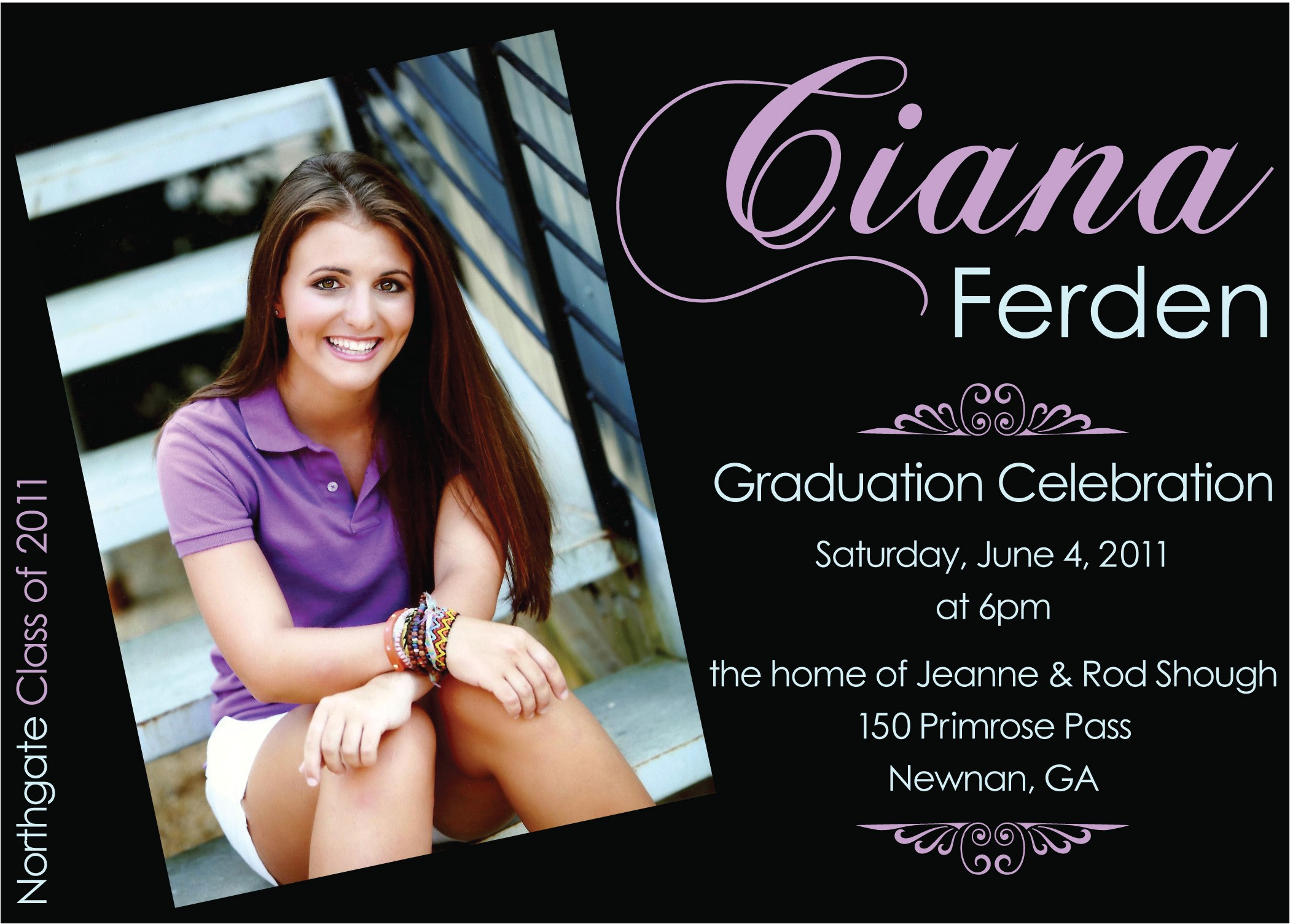 Graduation Invitation Layout Ideas Create Own Graduation Party Invitations Templates Free