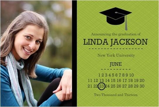 graduation announcement wording