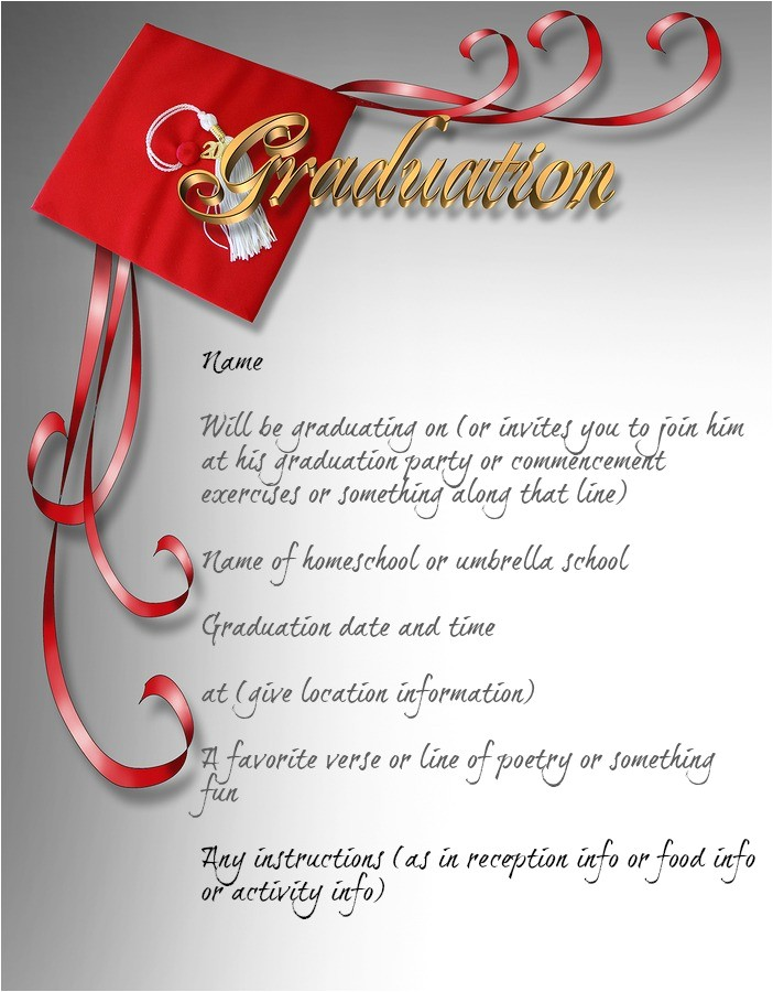 Graduation Invitations No Photo No Photo Graduation Announcements Christopherbathum Co