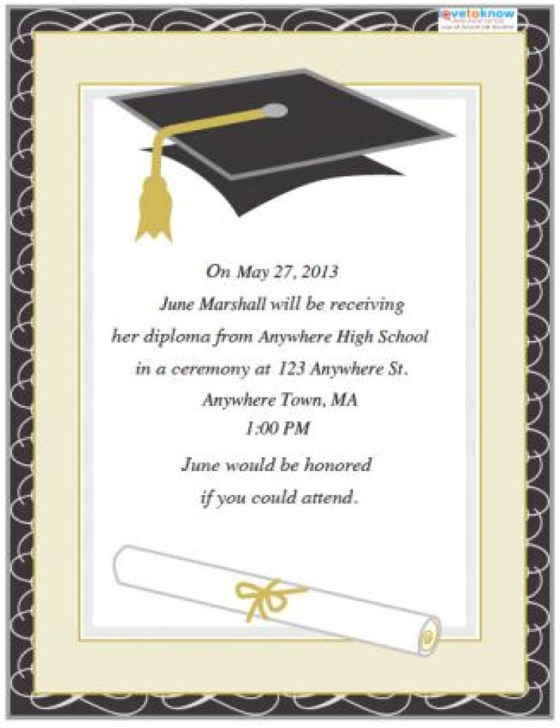 graduation invitations templates free download