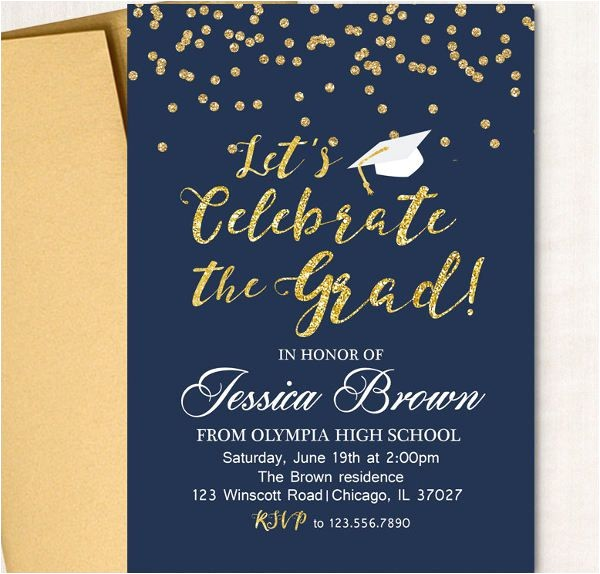 graduation invitation wording