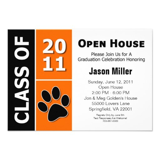graduation open house custom announcements 161736707480208121