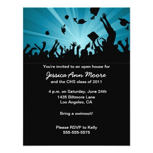 graduation open house invitation 161459514415586532