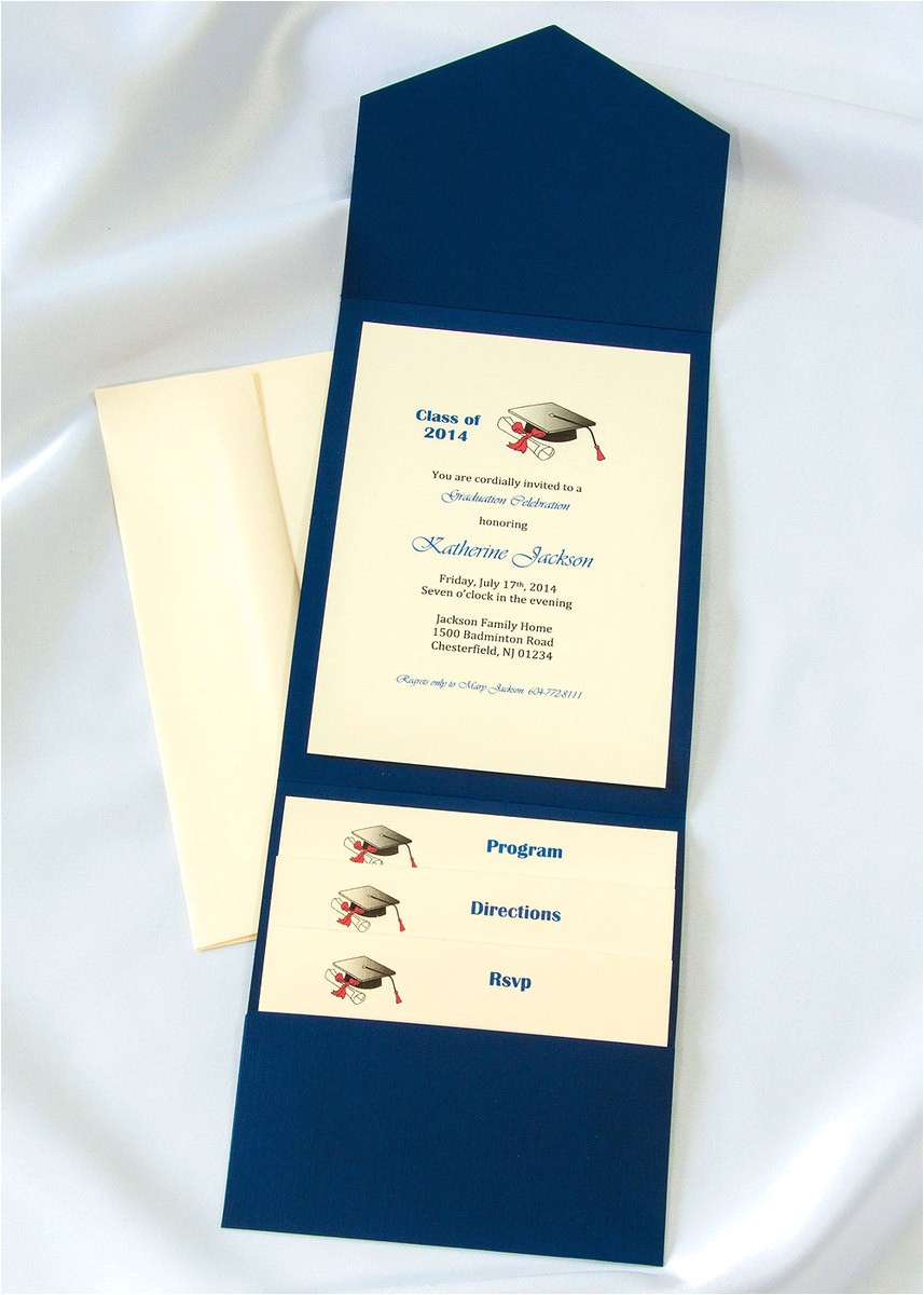 174 graduation elegance invitation kits