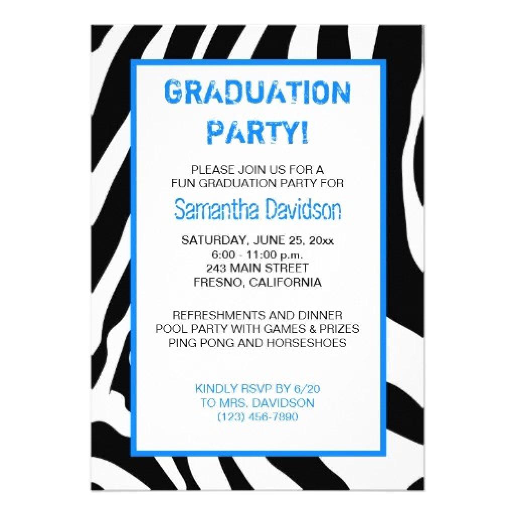 graduation party invitation wording ideas