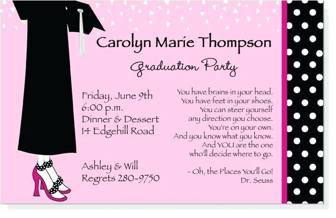 graduation party invitation sayings