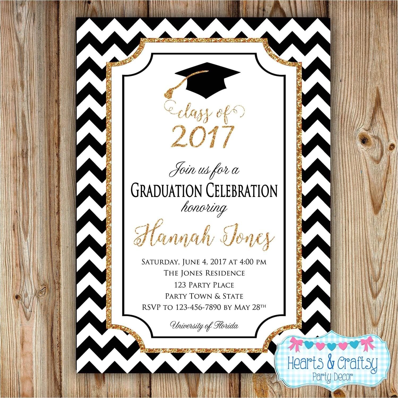 graduation party invitation college