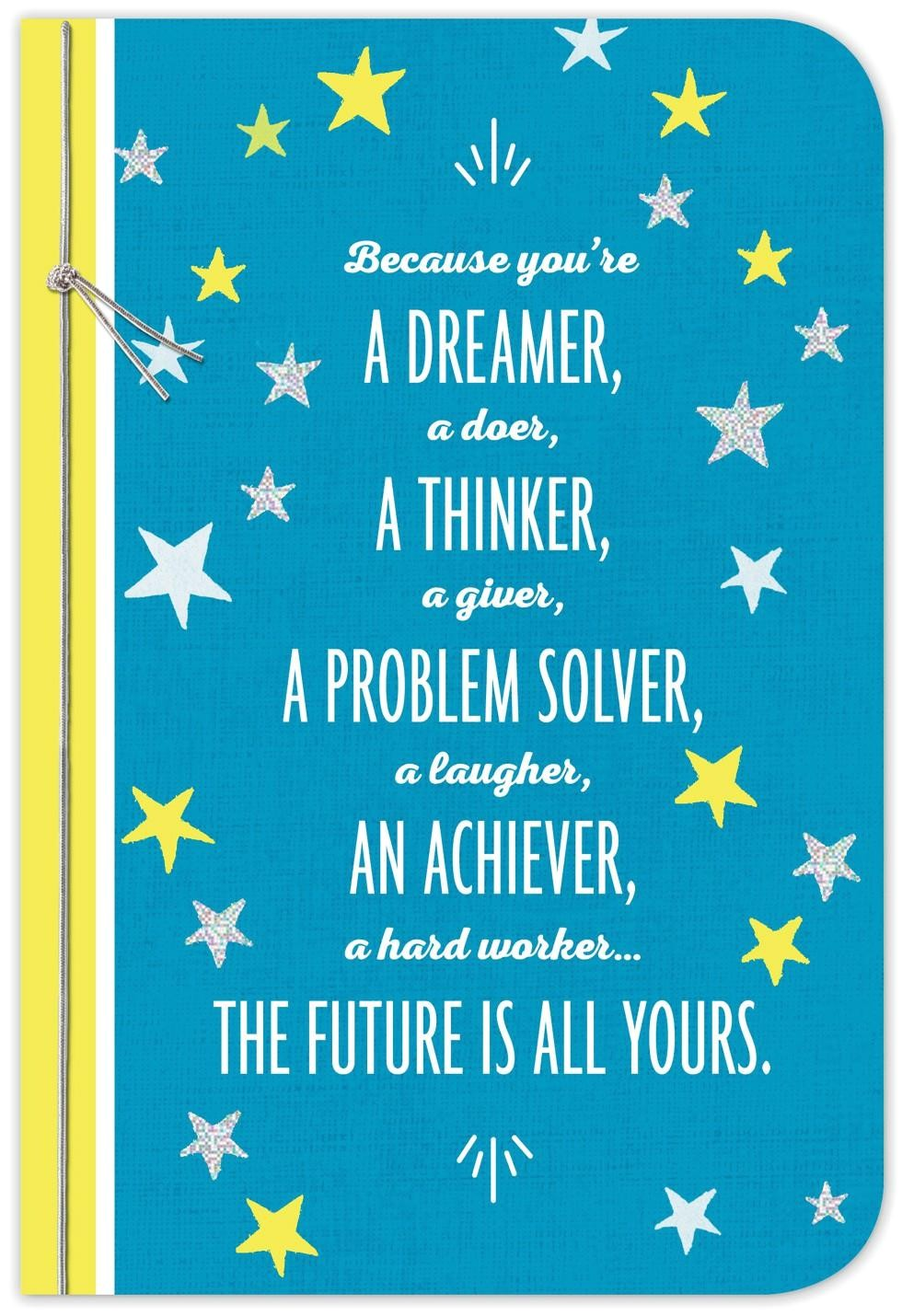 the future is yours graduation card 399gr4064