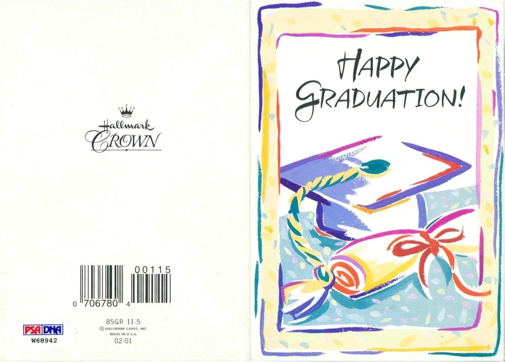 hallmark graduation announcements