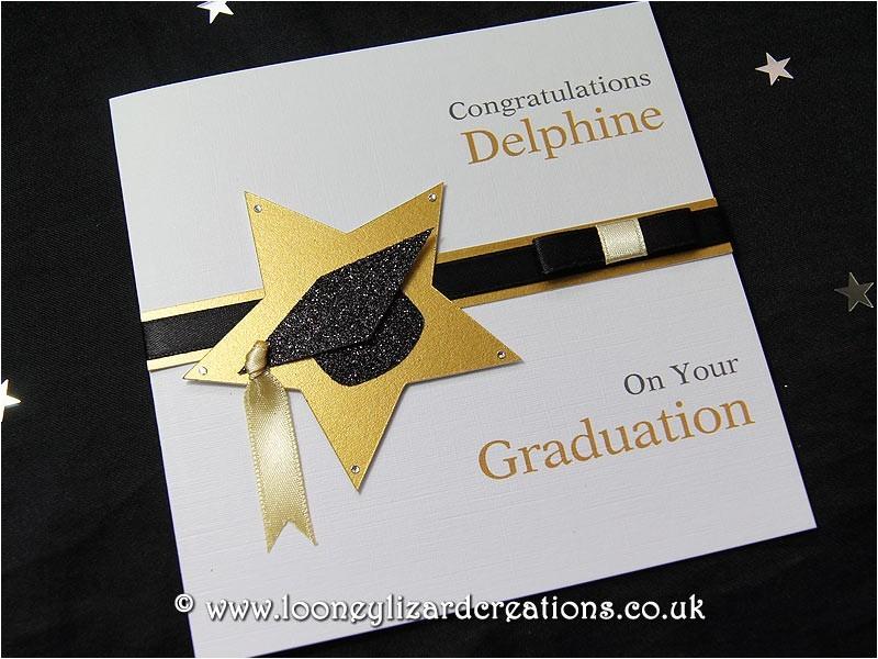 star achievement handmade personalised graduation
