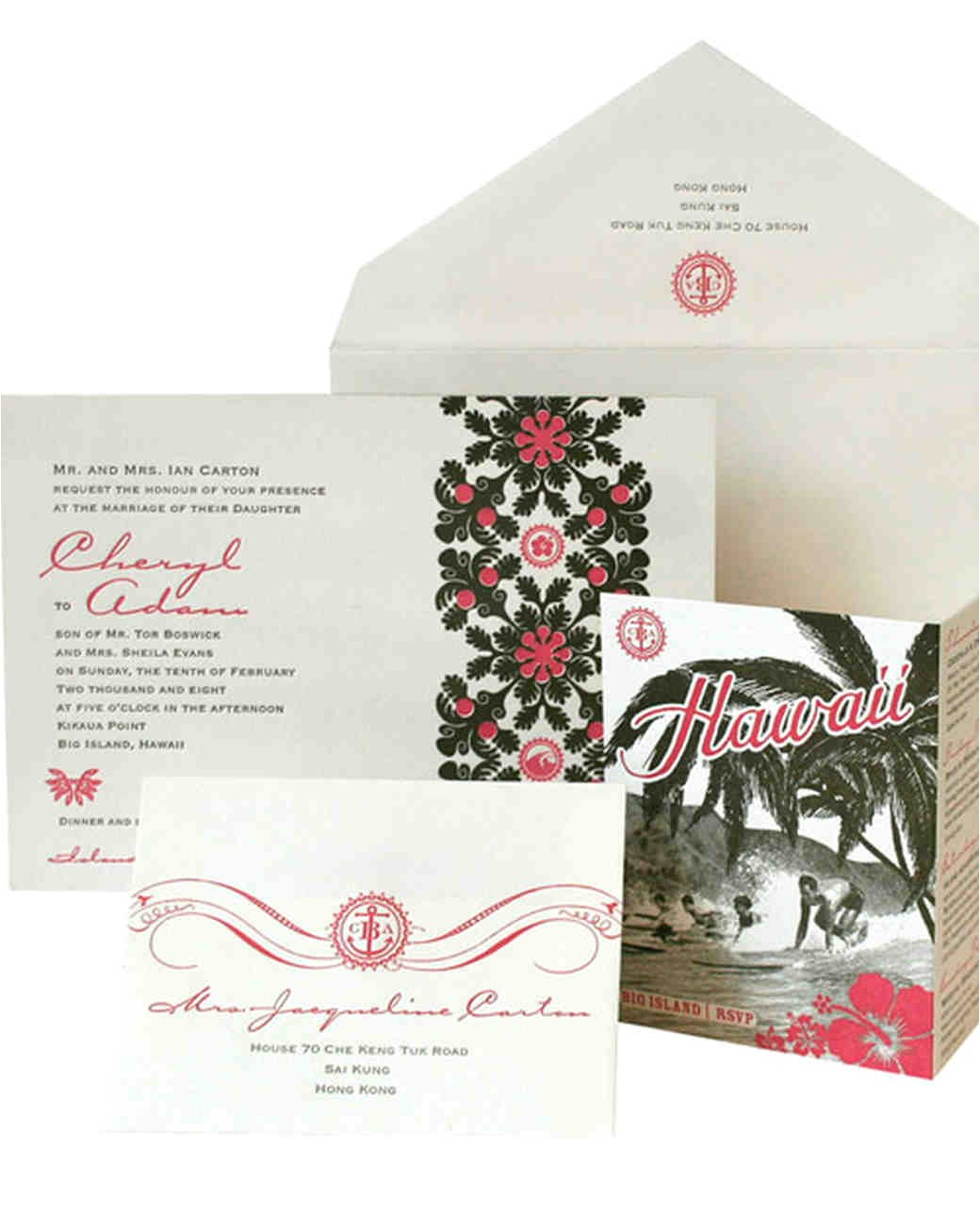 wedding invitations inspired cities and destinations