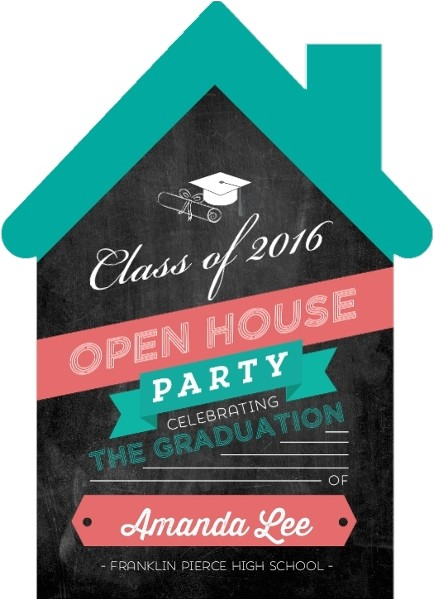 graduation open house invitation wording
