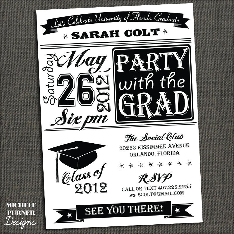 high school or college graduation party