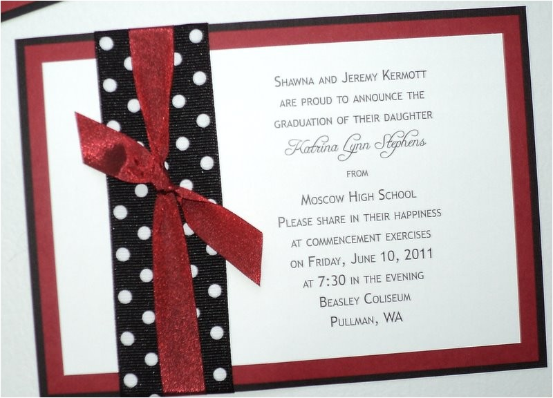 diy high school graduation announcements