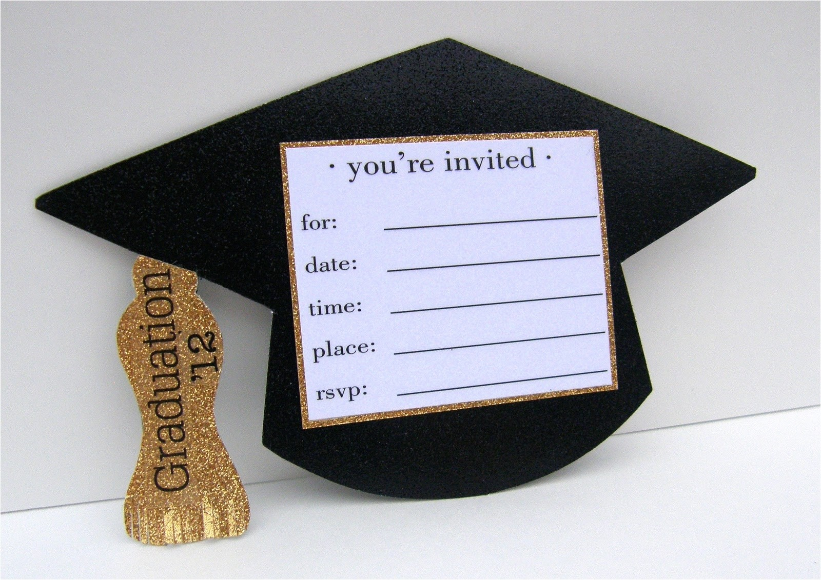 homemade graduation invitation ideas 030439434