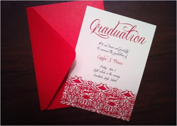 diy graduation invitationannouncement