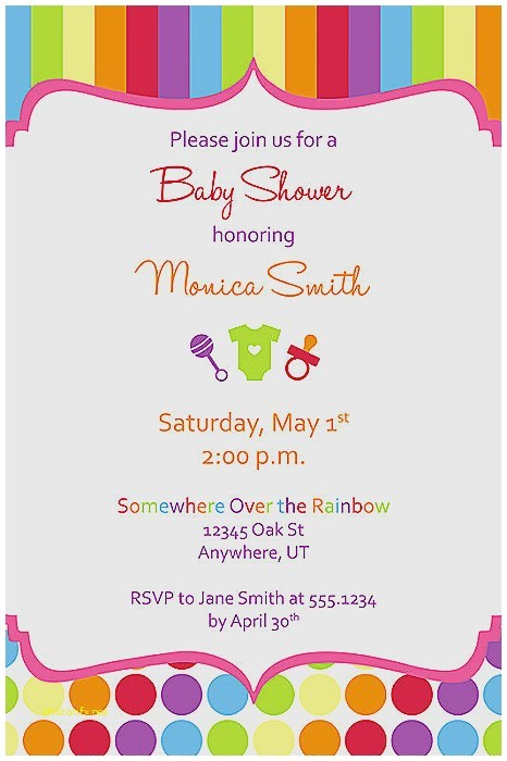 how to create a baby shower invitation