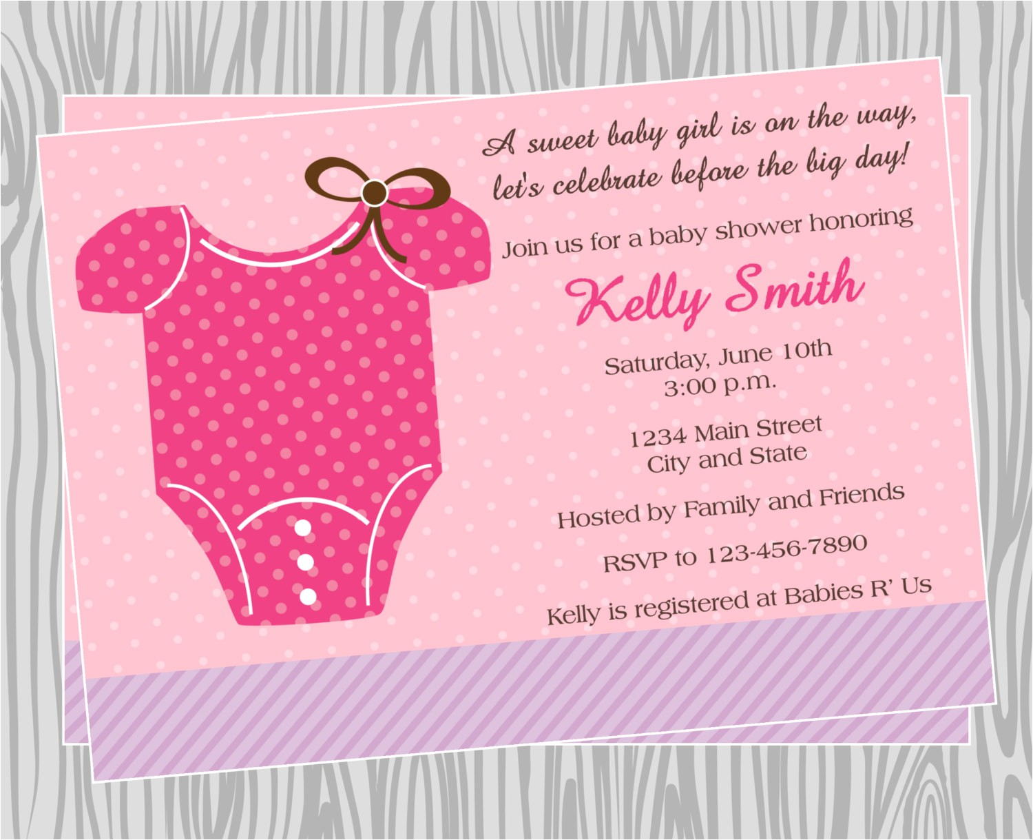 how to make baby shower invitations