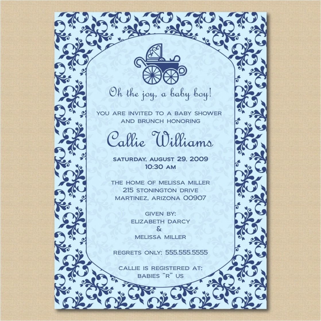 how to create baby shower invitation wording designs with home made 6 2