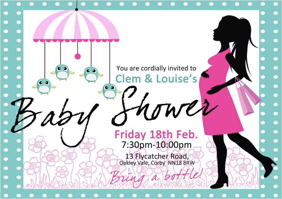 tips to make baby shower invitation templates