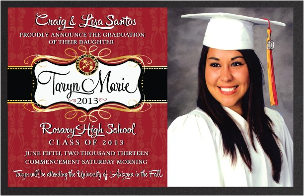announcements graduation announcement c 63 79
