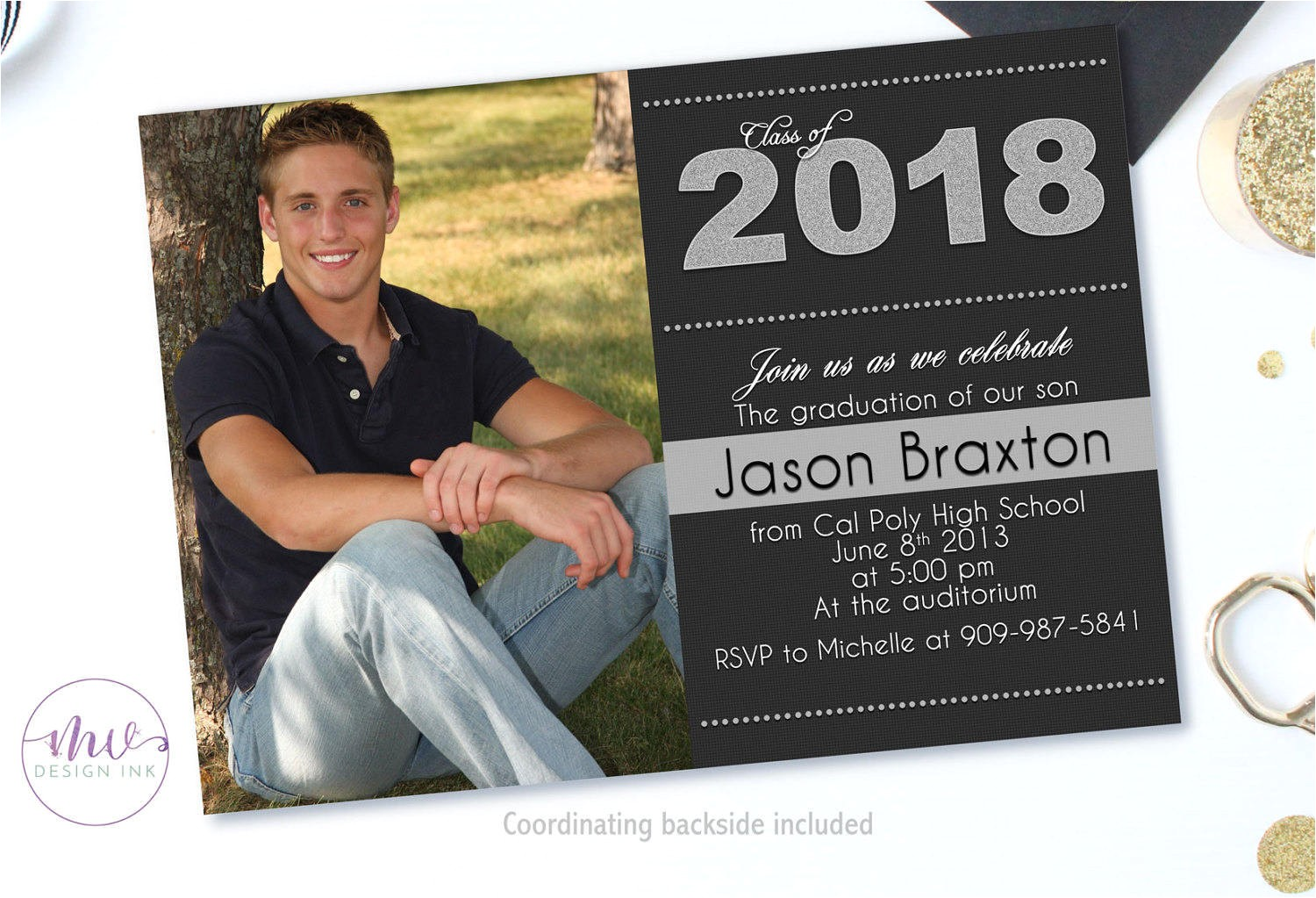 Hs Graduation Invitations Graduation Invitation Graduation Party Invitations High