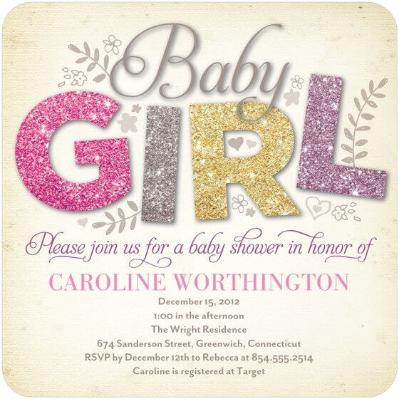 the reference to get baby shower invitation ideas