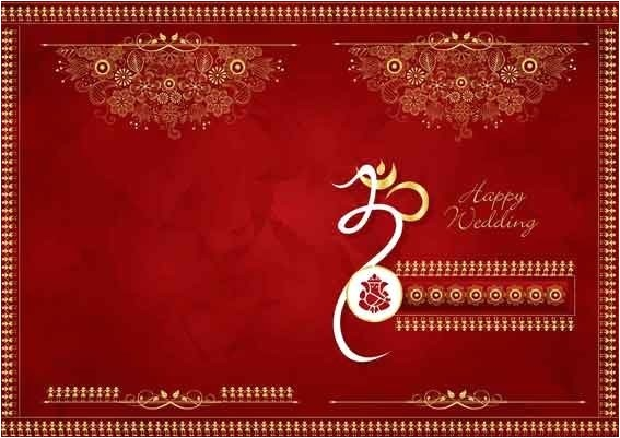 indian wedding invitation background designs free download