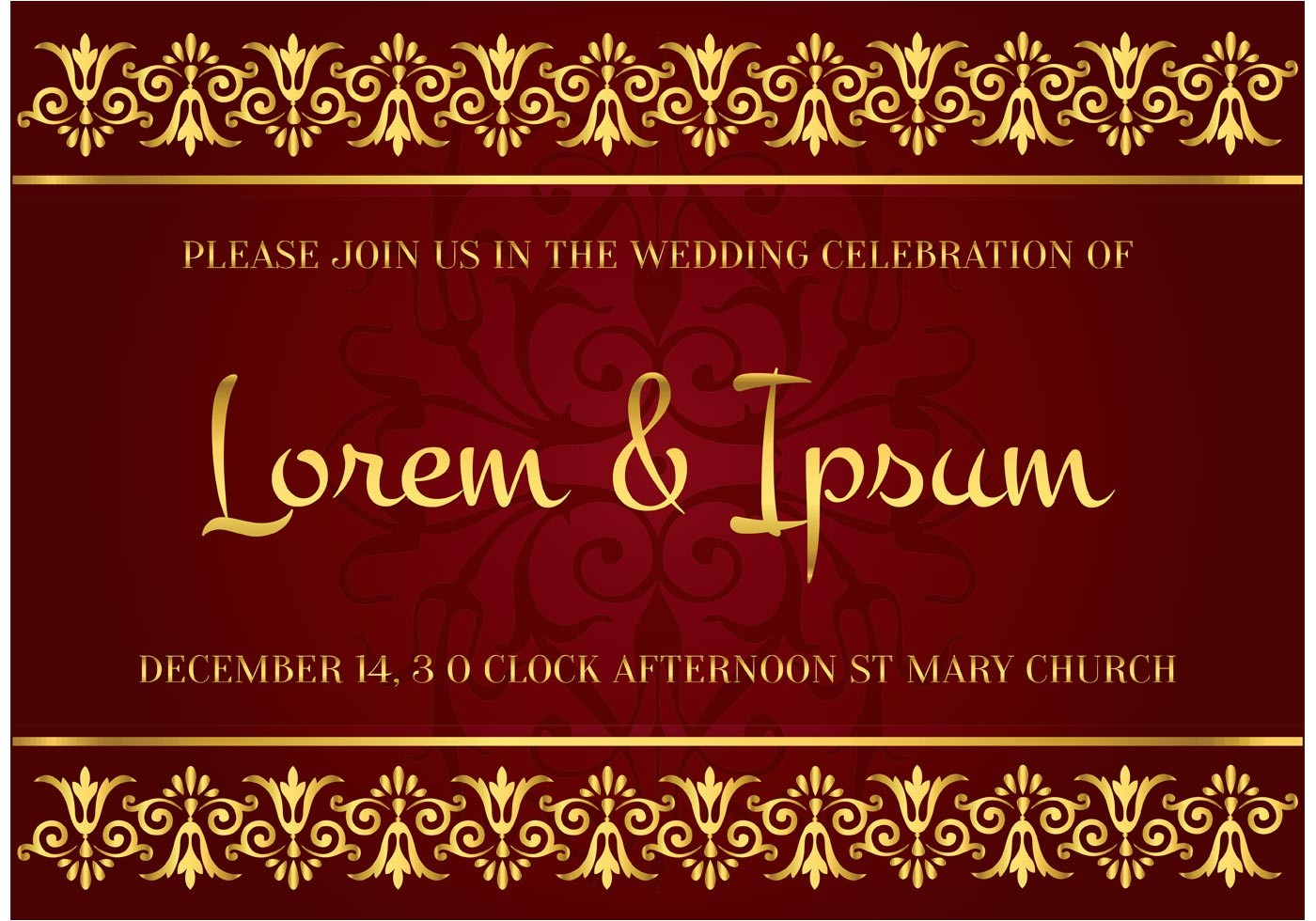 indian wedding invitation card designs free download