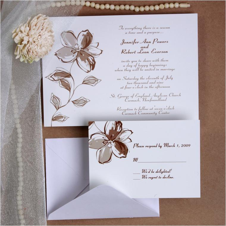 printable romantic floral wedding invites ewi179