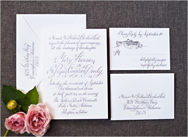 wedding invitations inner and outer envelope sizes