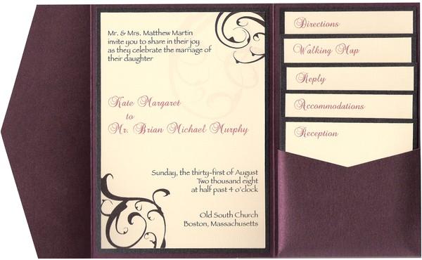 wedding invitations programs