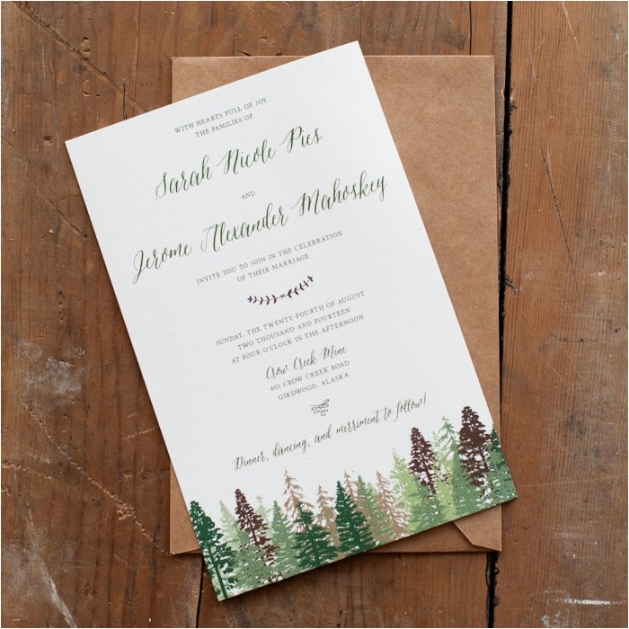 perfect rustic invitations country wedding