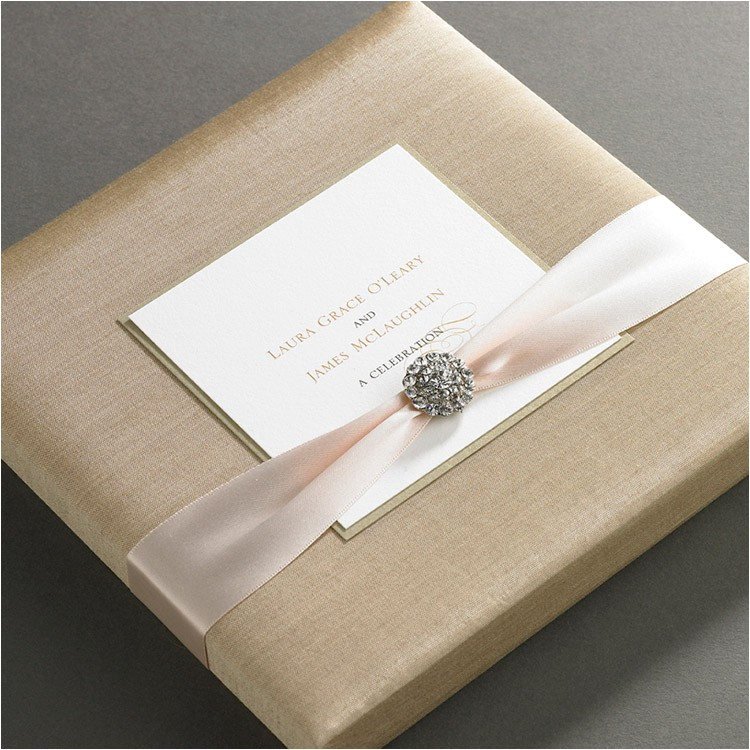 Invitation Boxes for Weddings Silk Wedding Invitation Boxes An Ultimate Luxury