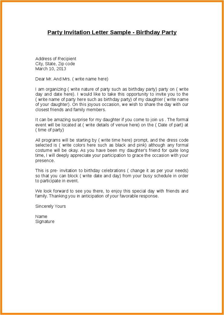 sample letter of invitation for graduation ceremony