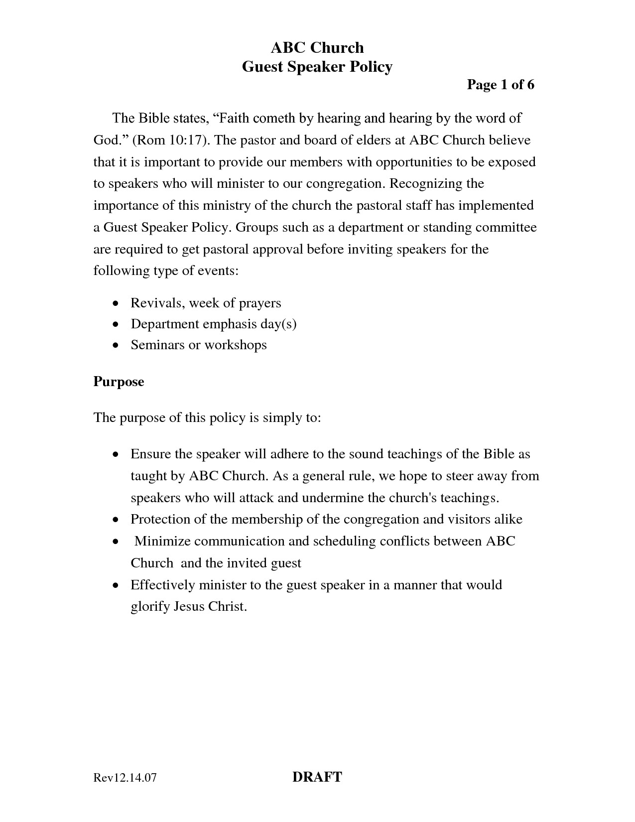 guest speaker invitation letter sample