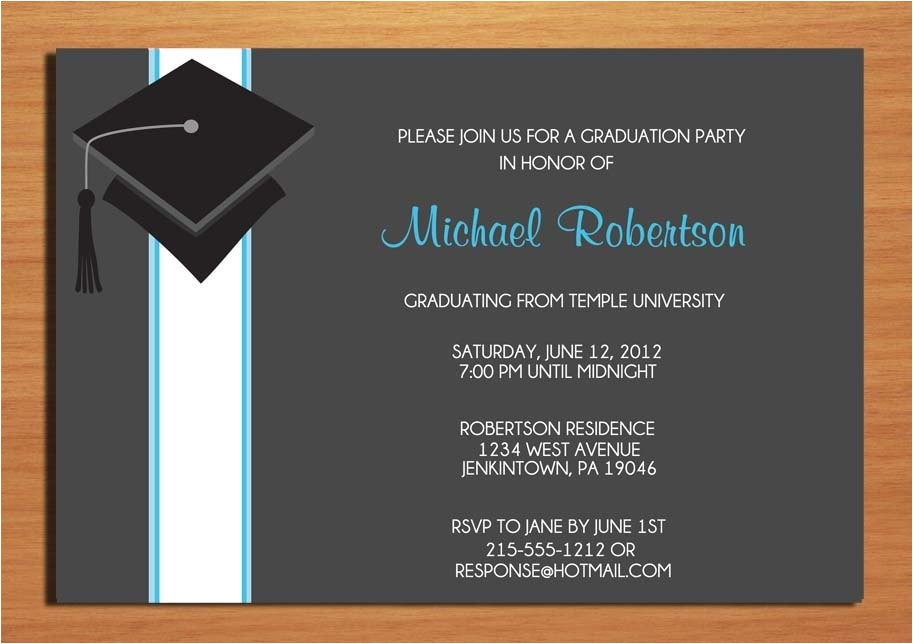 examples of graduation party invitations wording