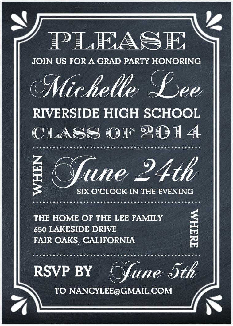Invitation to A Graduation Party Graduation Party Invitations Graduation Party