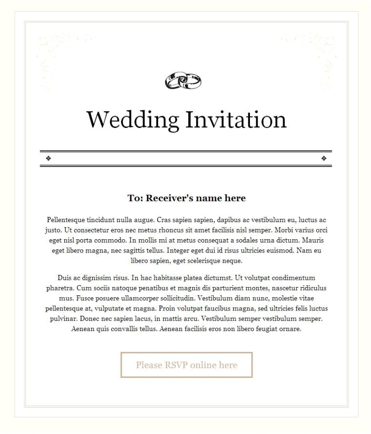 Inviting for Wedding Through Email New Wedding Invitation Wording In Email Wedding