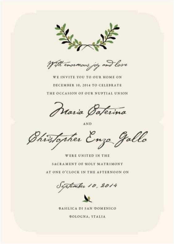 italian wedding elopement announcement wording private ceremony announcement destination wedding announcement second reception invitation courthouse exceptional italian wedding invitation wording 4
