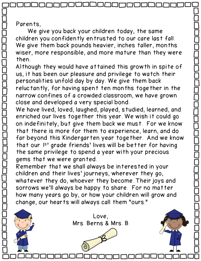 preschool graduation quotes for parents