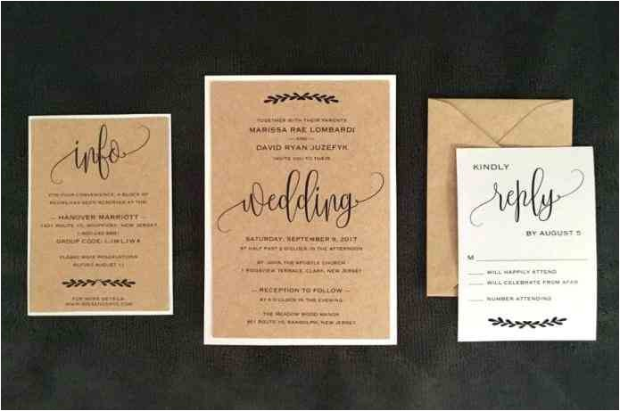 images diy printable rhdrjohnsoninfo set olive green fall rhgenesisgalaxiesinfo rustic kraft paper wedding invitation kit set jpg